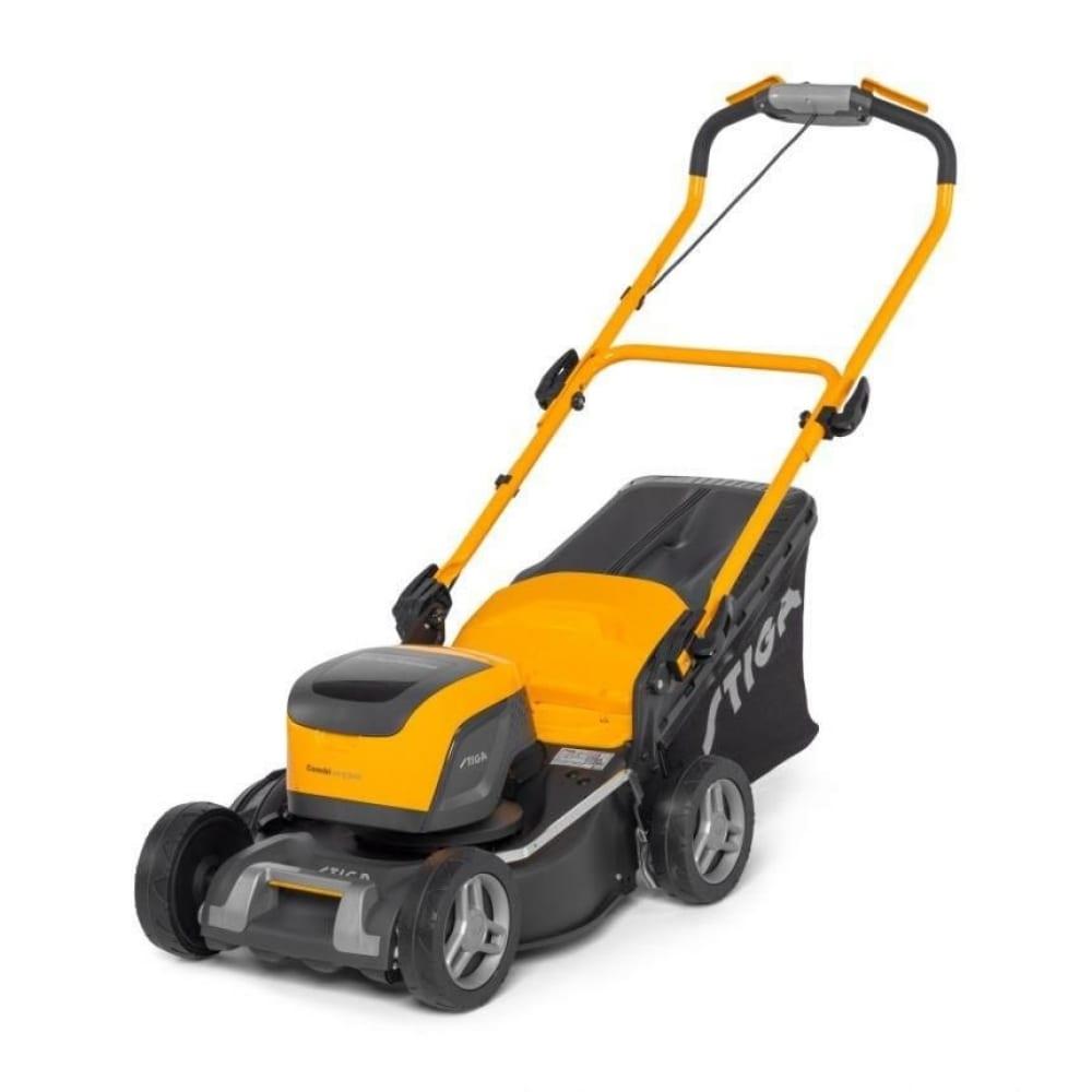 Аккумуляторная газонокосилка stiga combi 43 q dae 2l0431808/st1