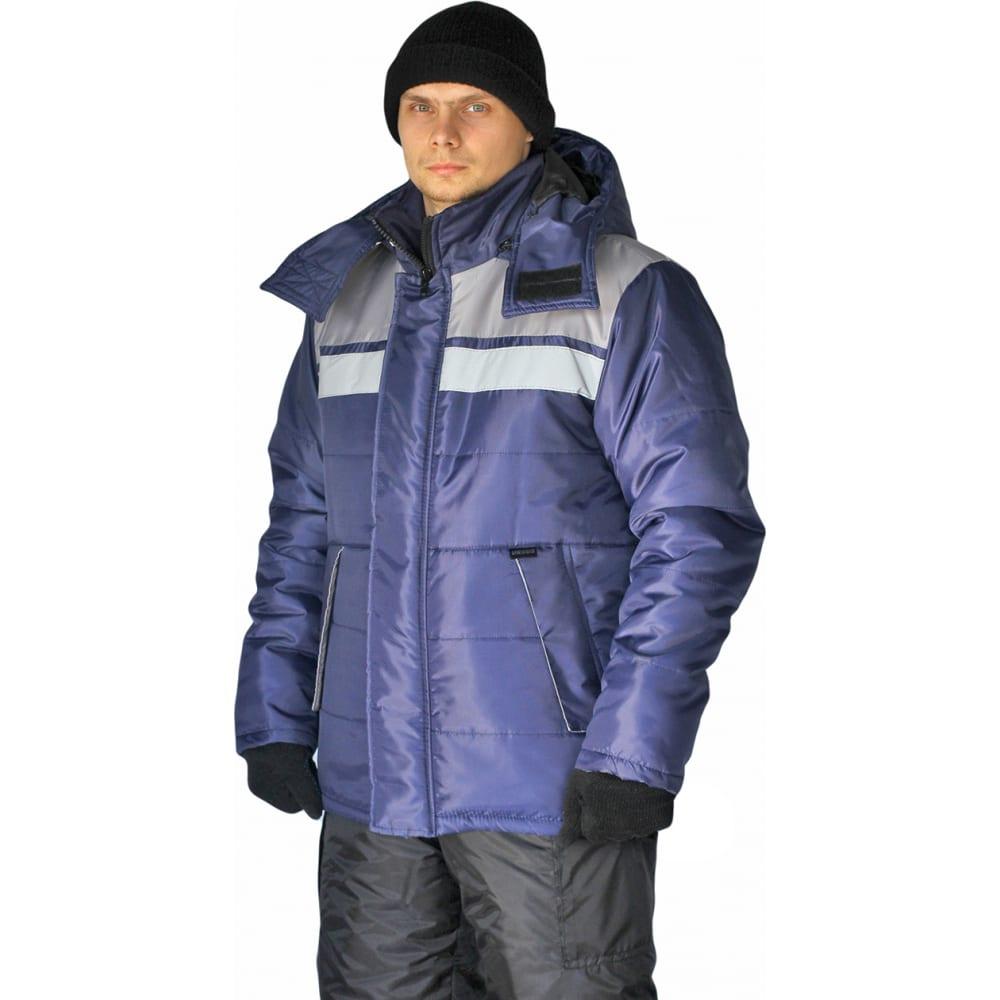 Купить Зимняя куртка ursus эребус темно-синий/серый кур515-005, размер 56-58, 170-176