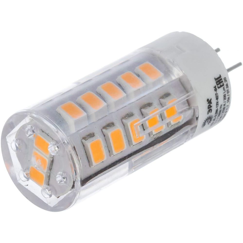 Светодиодная лампа эра led jc-2,5w-12v-827-g4, капсула, теплый б0033191