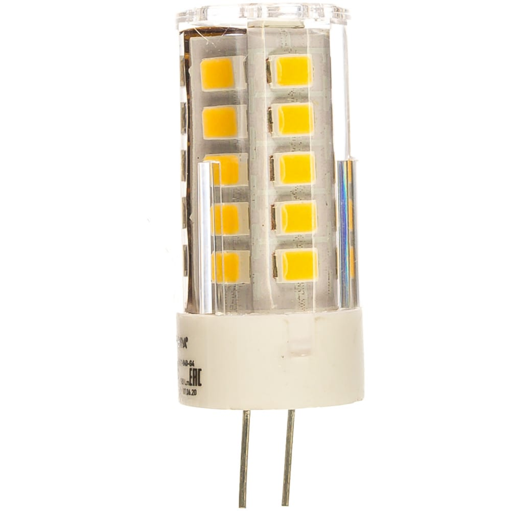 Светодиодная лампа эра led jc-2,5w-12v-840-g4, капсула, нейтральный б0033192