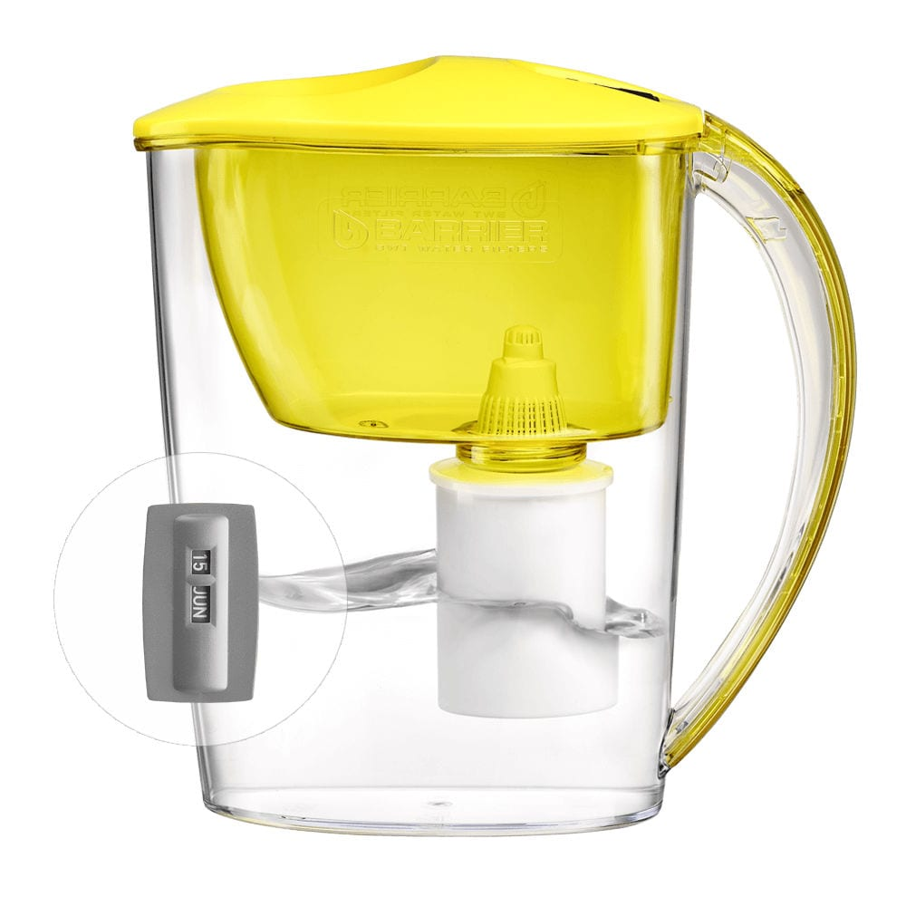 Фильтр-кувшин для очистки воды барьер фит 2,5 л, цвет бодрящий лимон