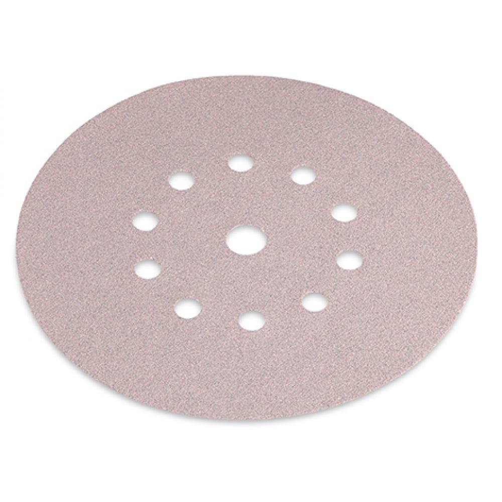 Шкурка шлифовальная на бумажной основе на «липучке» (225 мм, р120) select flex 349216