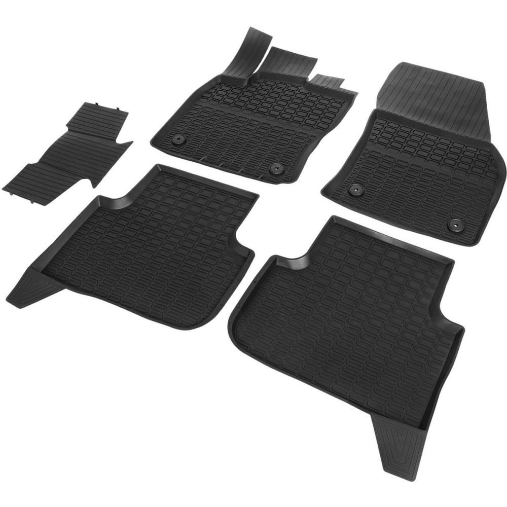 Купить Литьевые коврики салона для volkswagen tiguan ii 5-дв. 2017-н.в, 5 шт. rival 65805002