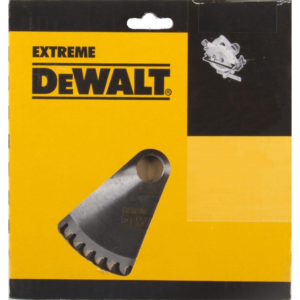 Купить Диск пильный по дереву extreme workshop (160/20 мм; 1.8/2.6 мм; 48t) для ручных пил dewalt dt4084