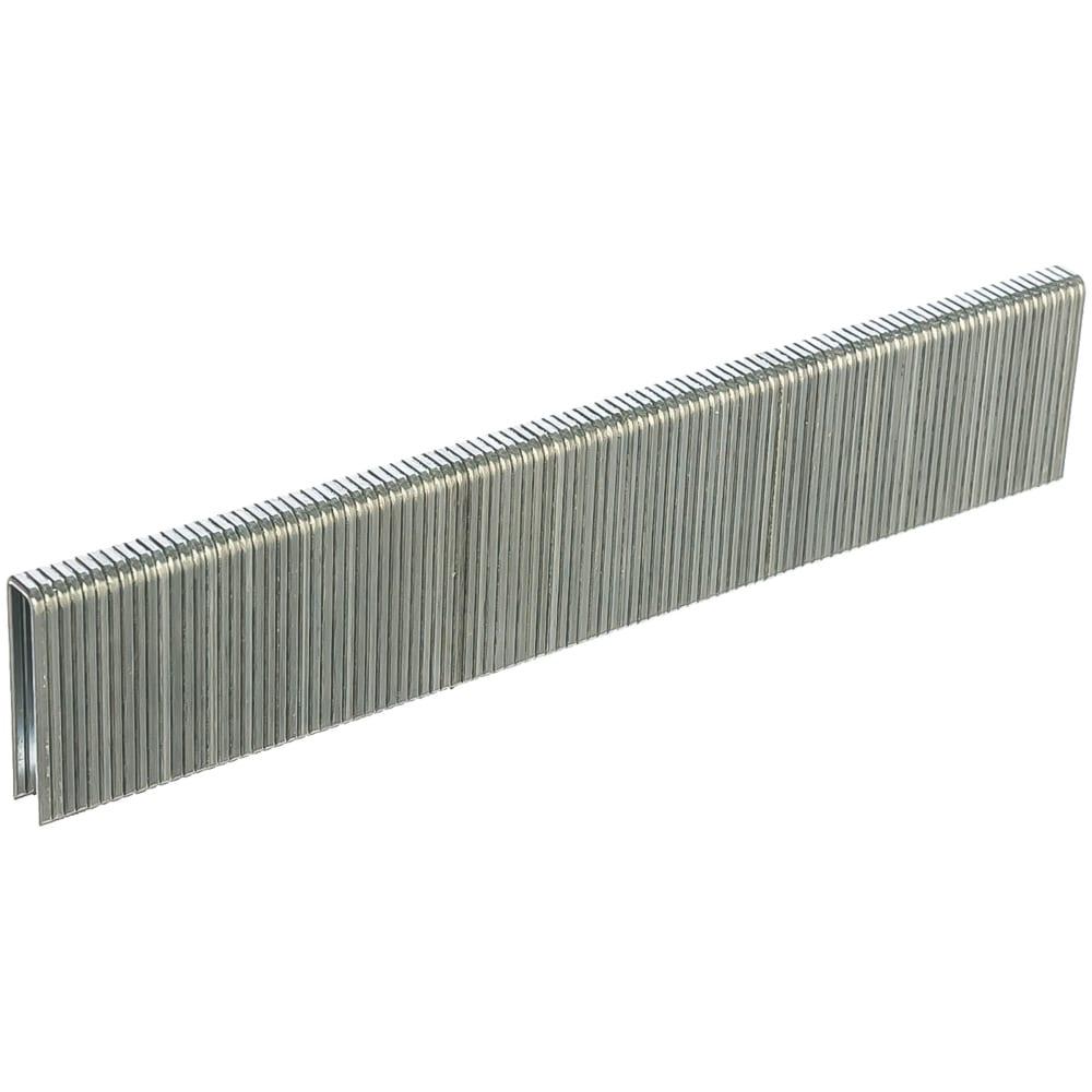 Скобы 18ga (5000 шт; 25 мм; 1.25х1х5.7 мм) для пневматического степлера matrix 57659
