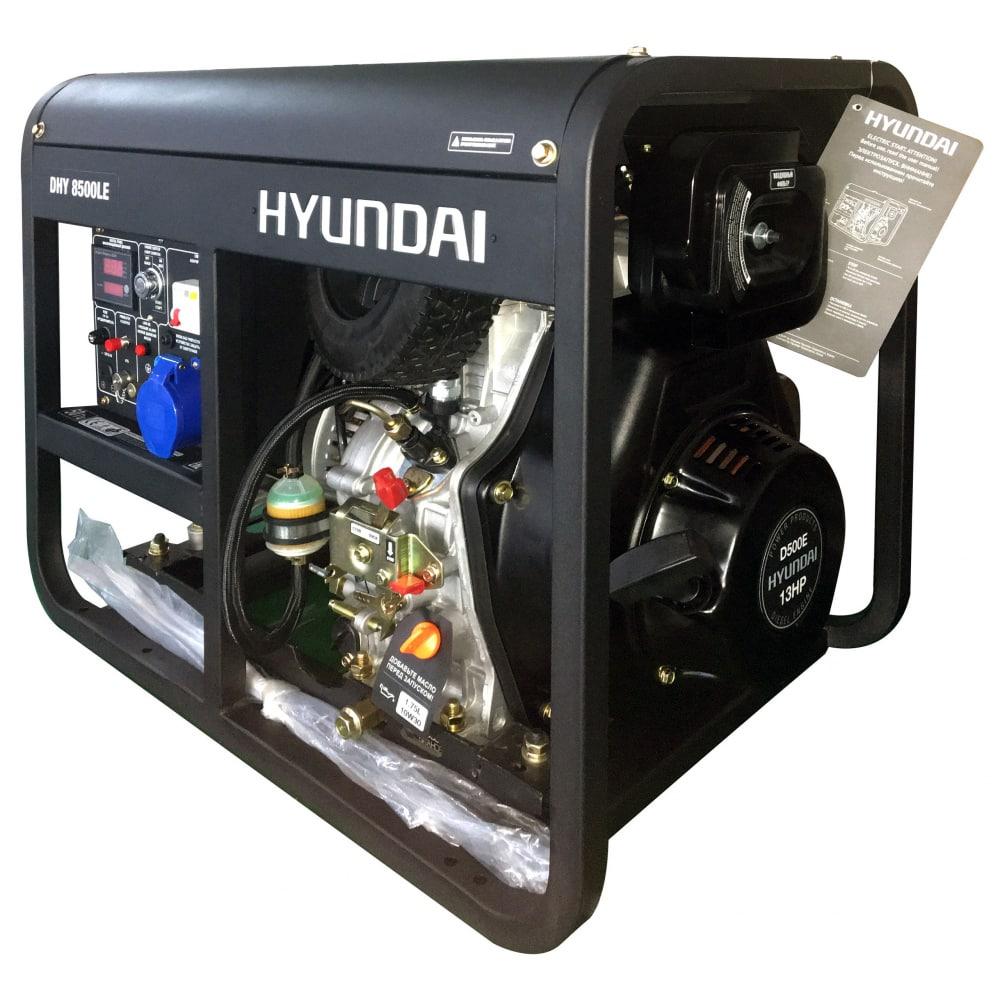 Дизельный генератор hyundai dhy 8500le