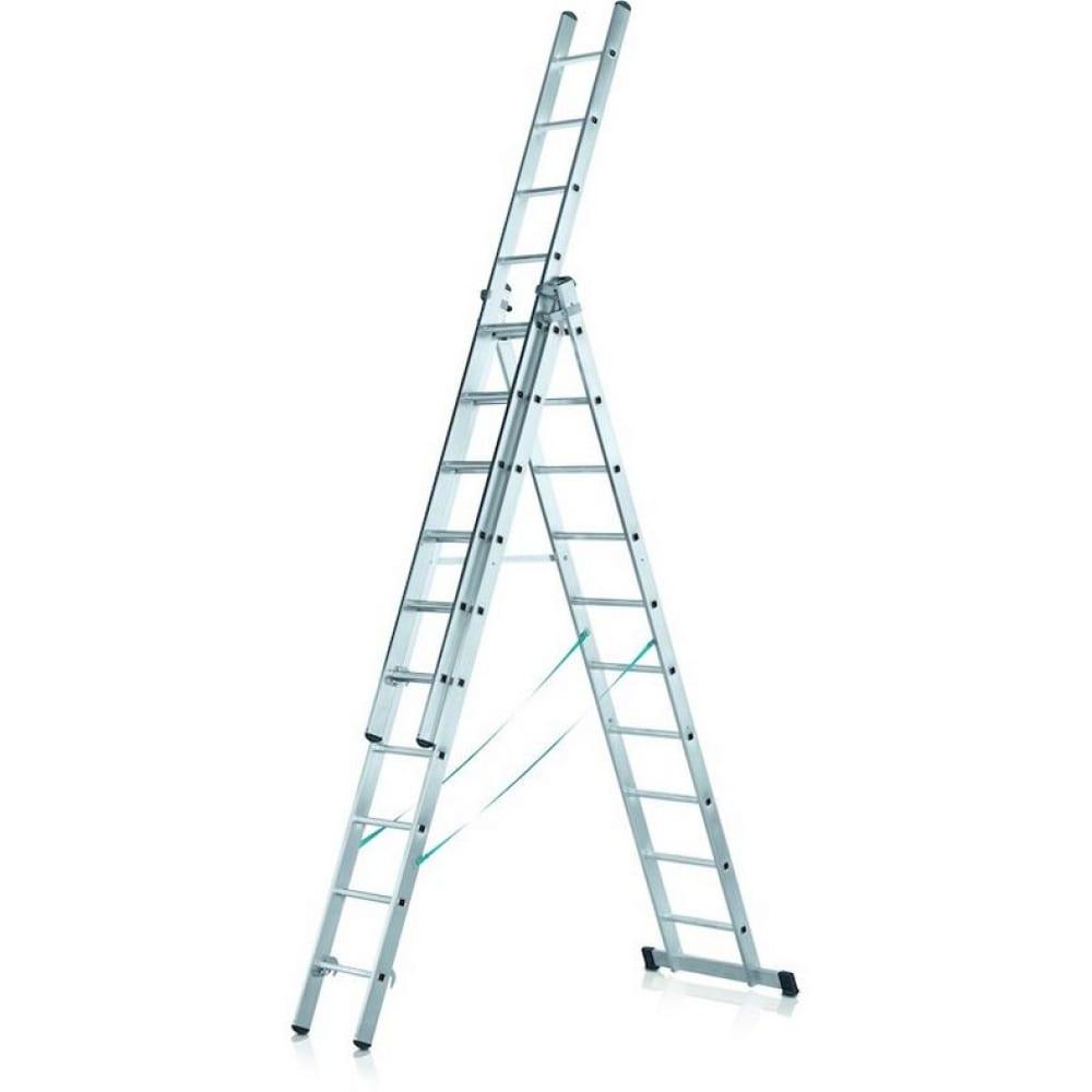Трехсекционная лестница zarges 3х10 48923