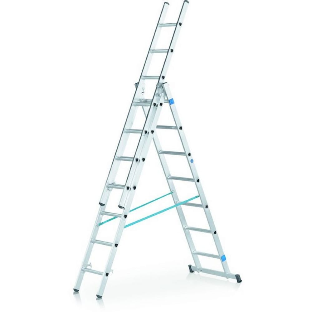 Трехсекционная лестница zarges 3х9 44839