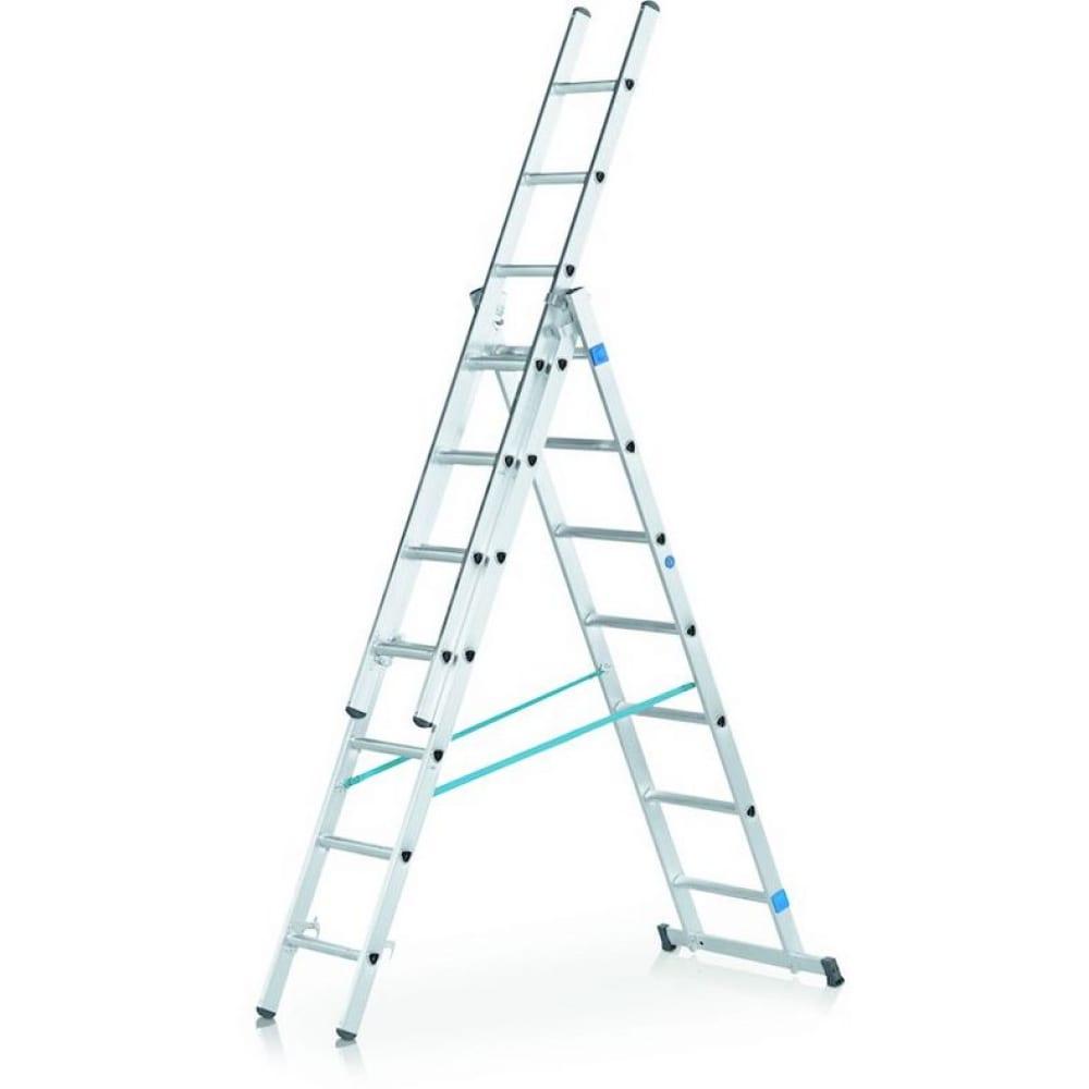 Трехсекционная лестница zarges 3х8 44838