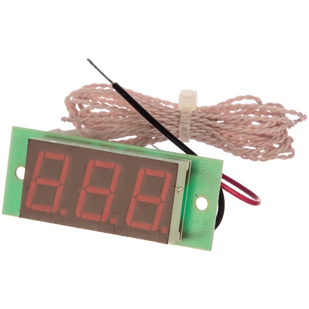 Термометр digitop тм-19 бескорпусной red