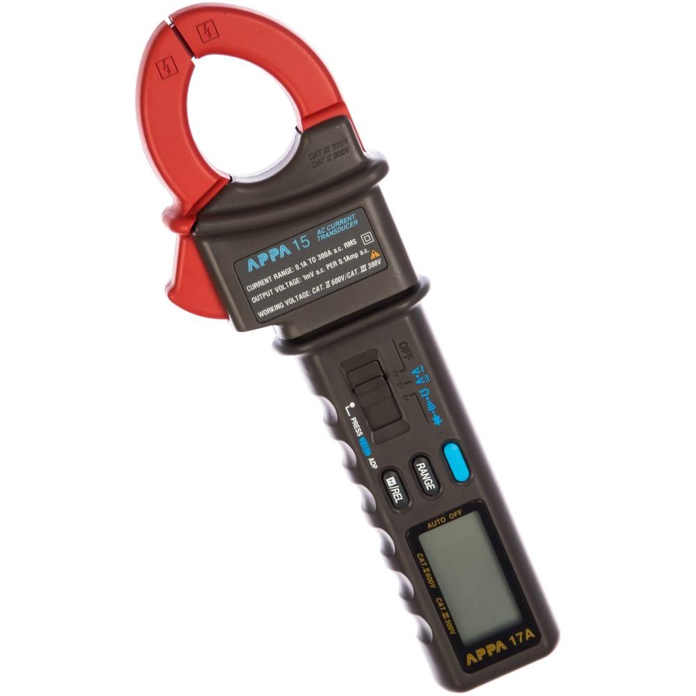 Купить Комплект: мультиметр 17a + преобразователь тока 15 appa 17a+15+case