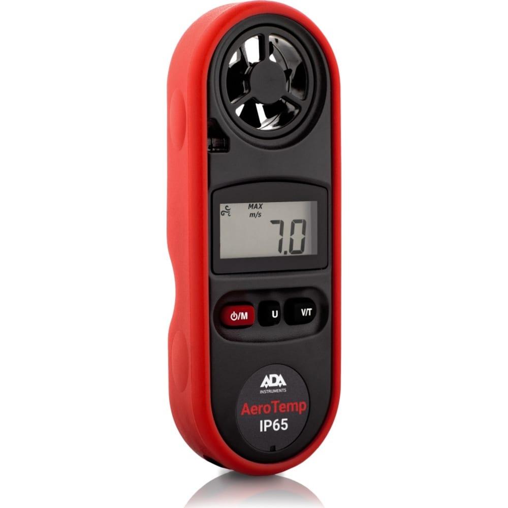 Анемометр с крыльчаткой ada aerotemp ip65 а00546