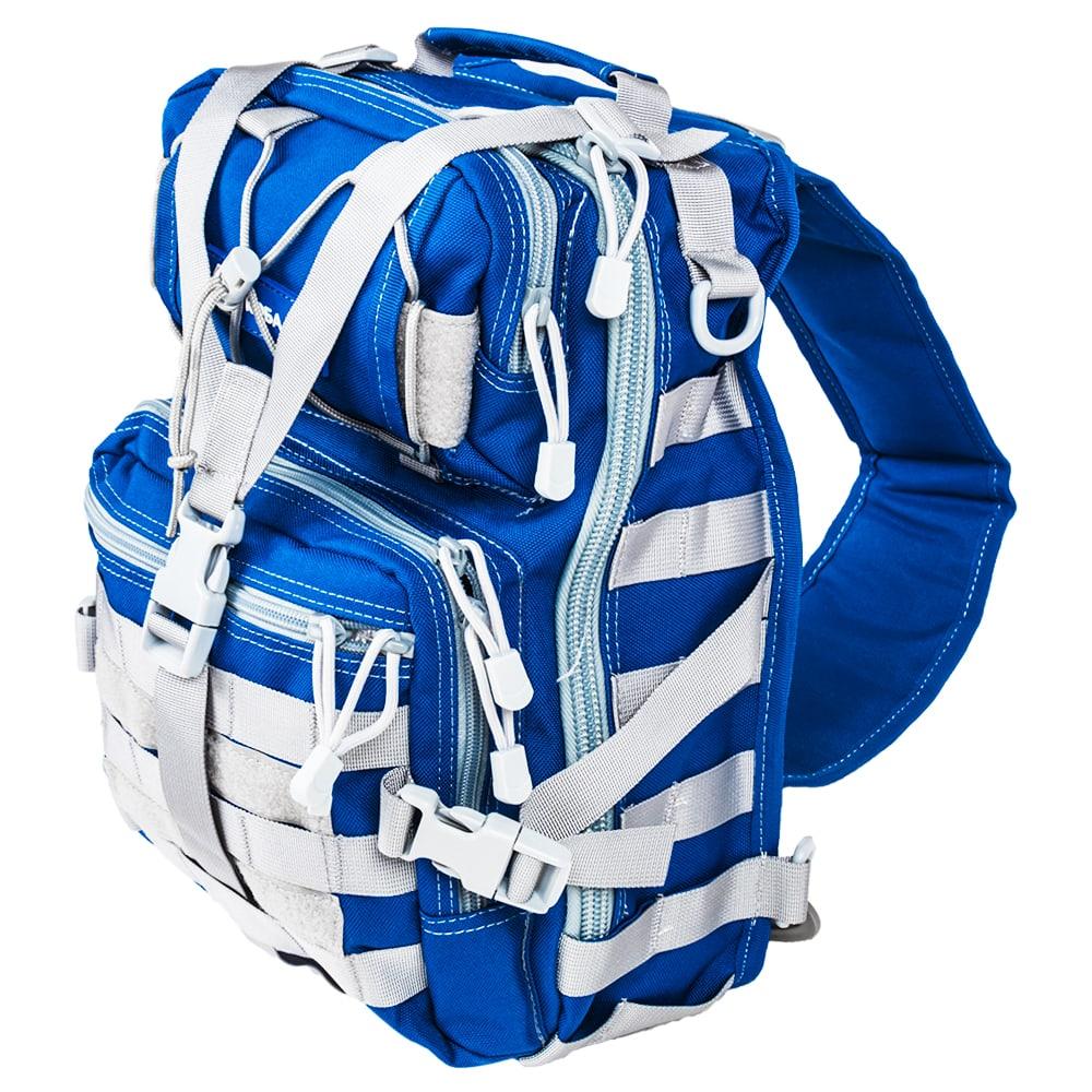 Рюкзак с одной лямкой кобальт скаут