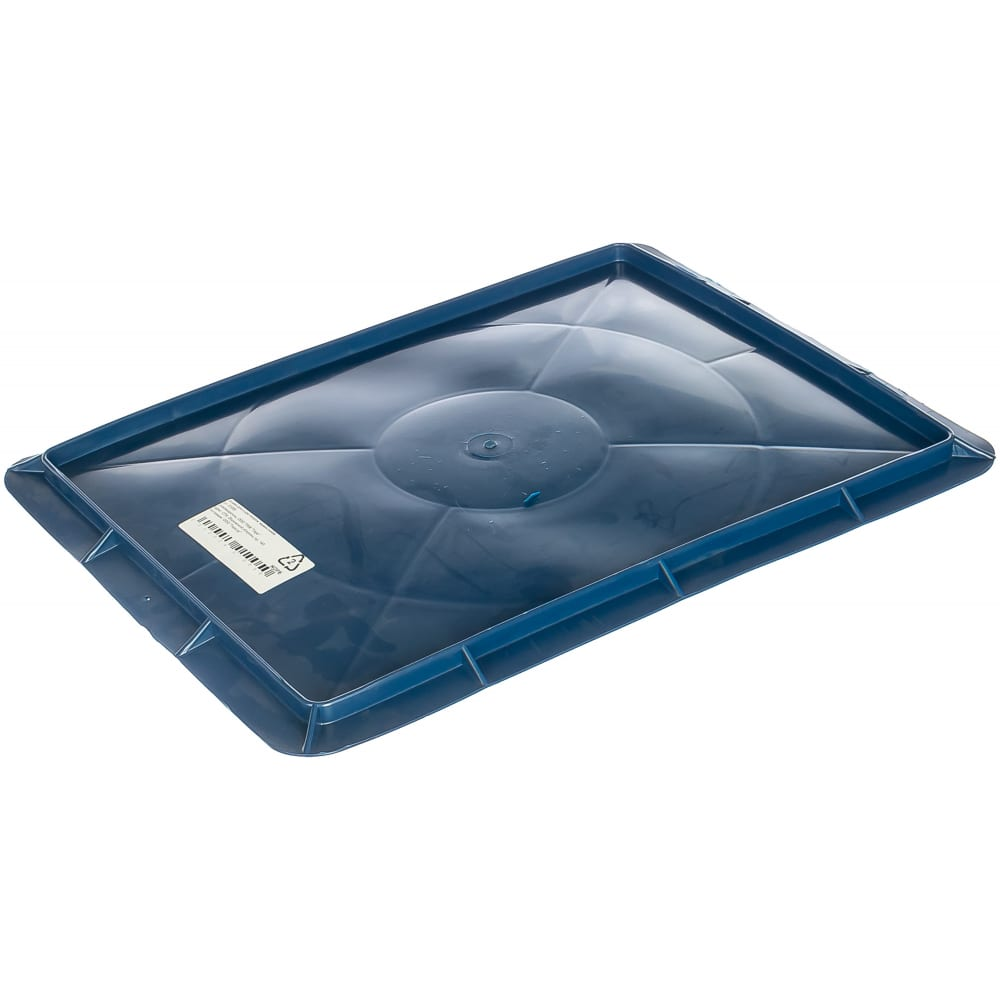 Крышка для сырково творожного ящика, синяя тара