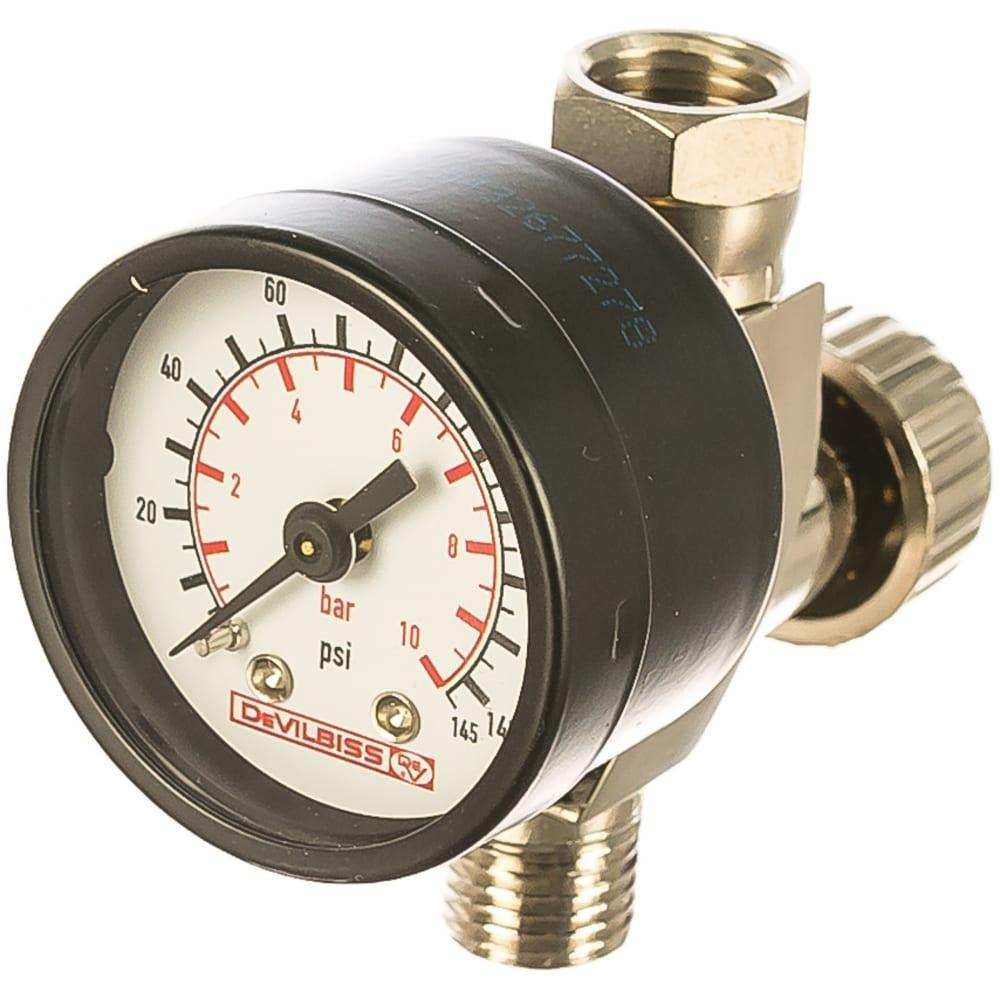 Купить Регулятор давления воздуха, с манометром devilbiss hav-501-b