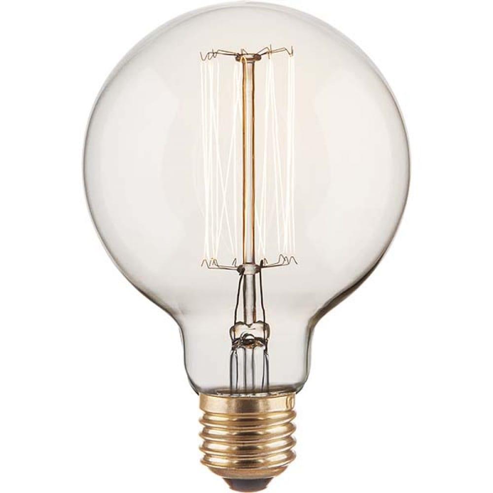 Лампа накаливания elektrostandard g95 60w a034965