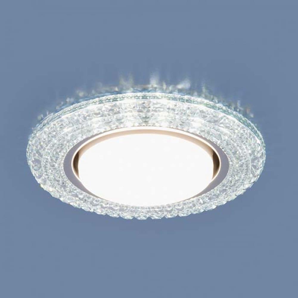Купить Встраиваемый светильник elektrostandard 3030 gx53 / cl прозрачный a035177