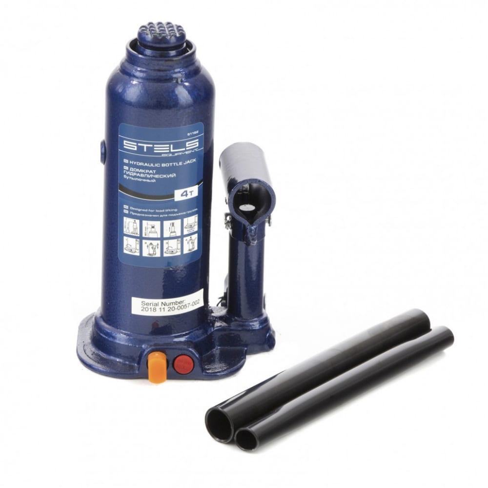 Купить Гидравлический бутылочный домкрат 4 т, h подъема 188–363 мм stels 51162