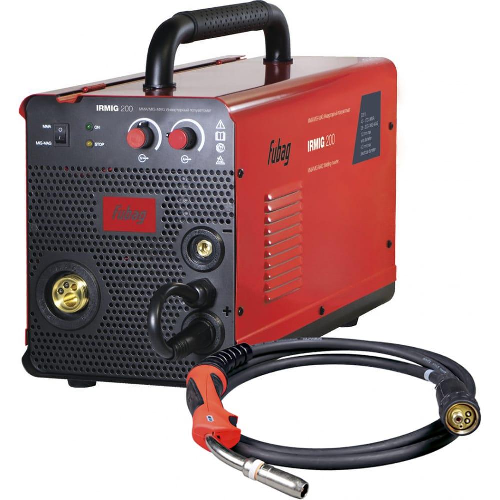 Сварочный полуавтомат инвертор fubag irmig 200 31 433 + горелка fb 250 3 м 38443 31 433.1