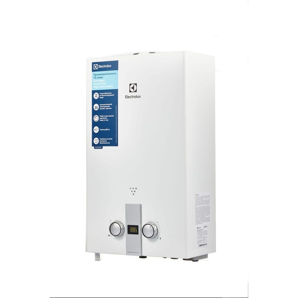 Газовая колонка electrolux gwh 10 high performance eco нс-1186645