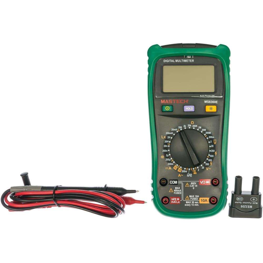 Измеритель емкости и индуктивности mastech ms8360e 13-2028