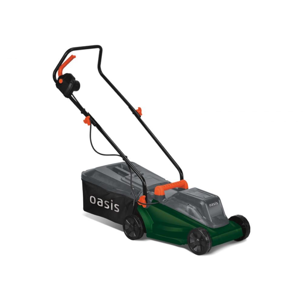 Электрическая газонокосилка oasis ge-12 4640039480129