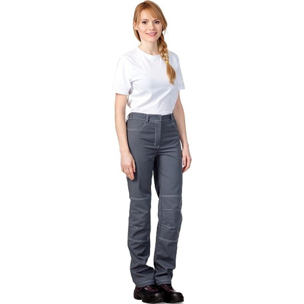 Женские летние брюки техноавиа сити темно-серые размер 96-100 рост 158-164 3098e.