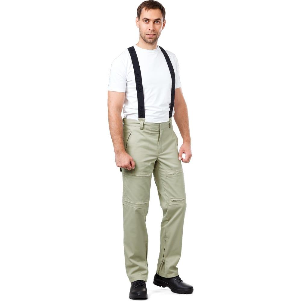 Мужские летние брюки техноавиа пилот бежево-оливковые размер 128 рост 176 3974nn.