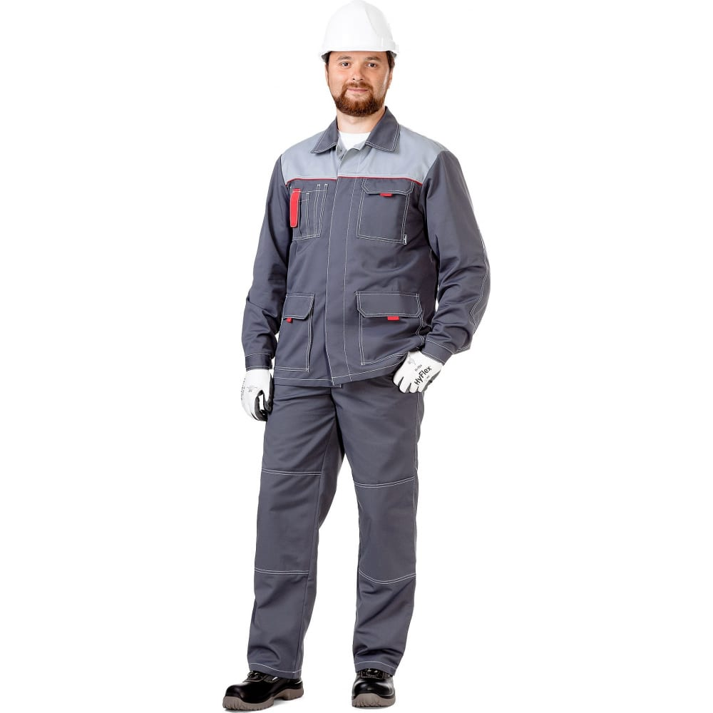 Мужская летняя куртка техноавиа сити темно-серая, размер 128-132, рост 182-188 3090t фото