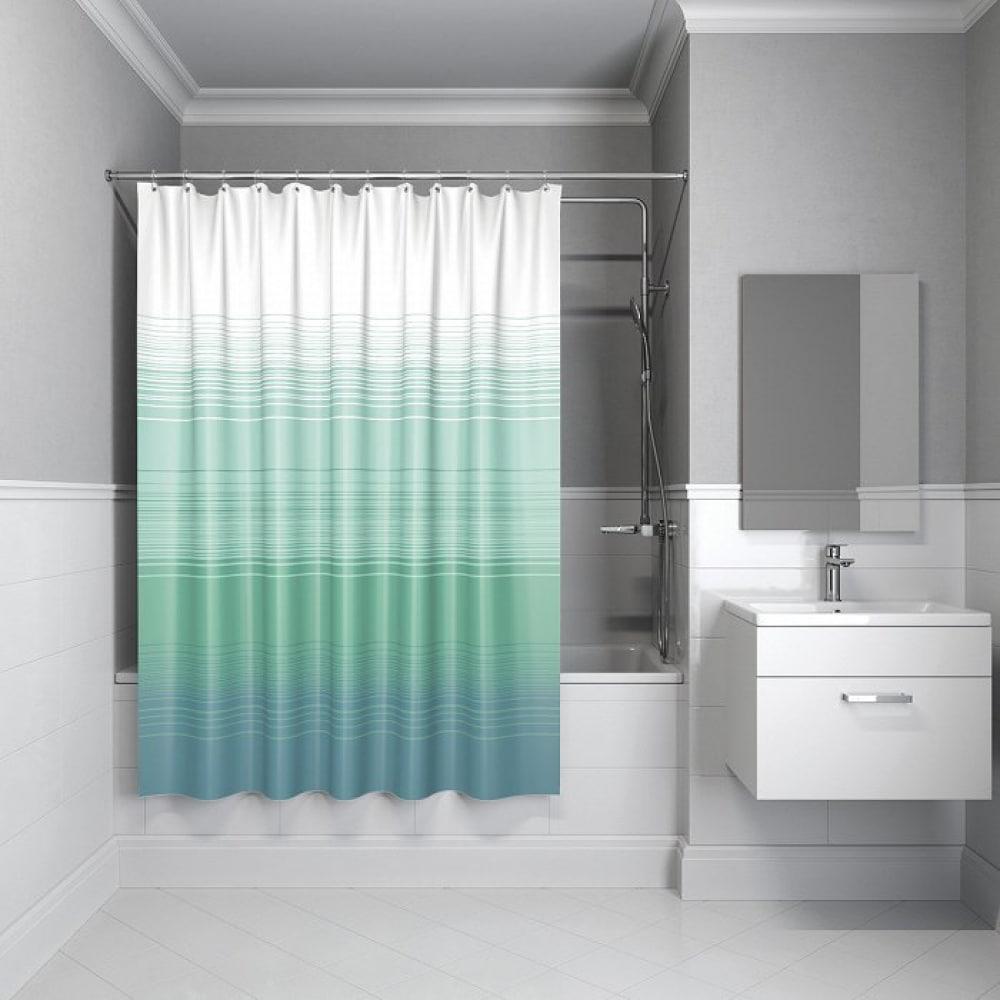 Штора для ванной комнаты iddis 200*200