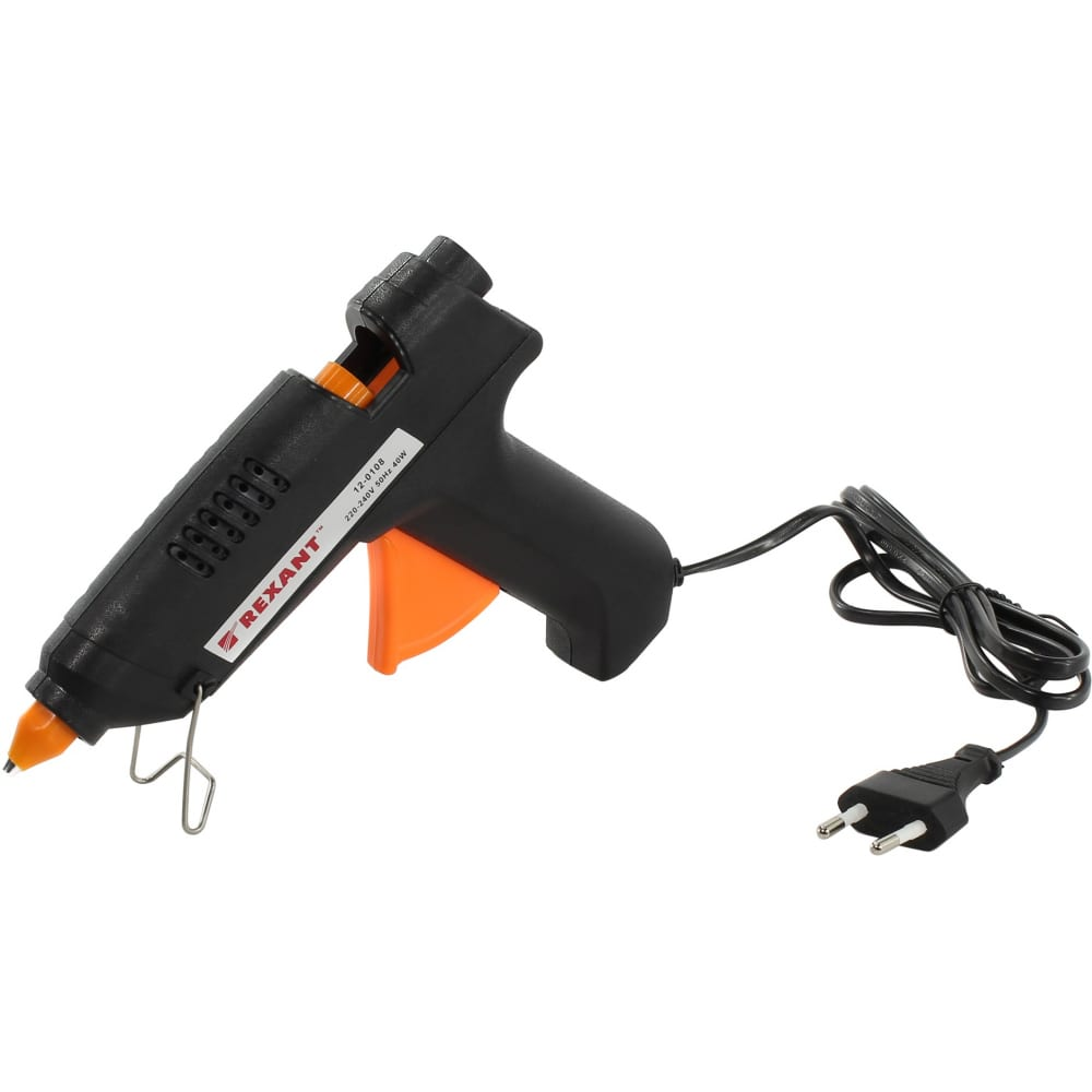 Клеевой пистолет rexant 40 вт 12-0108