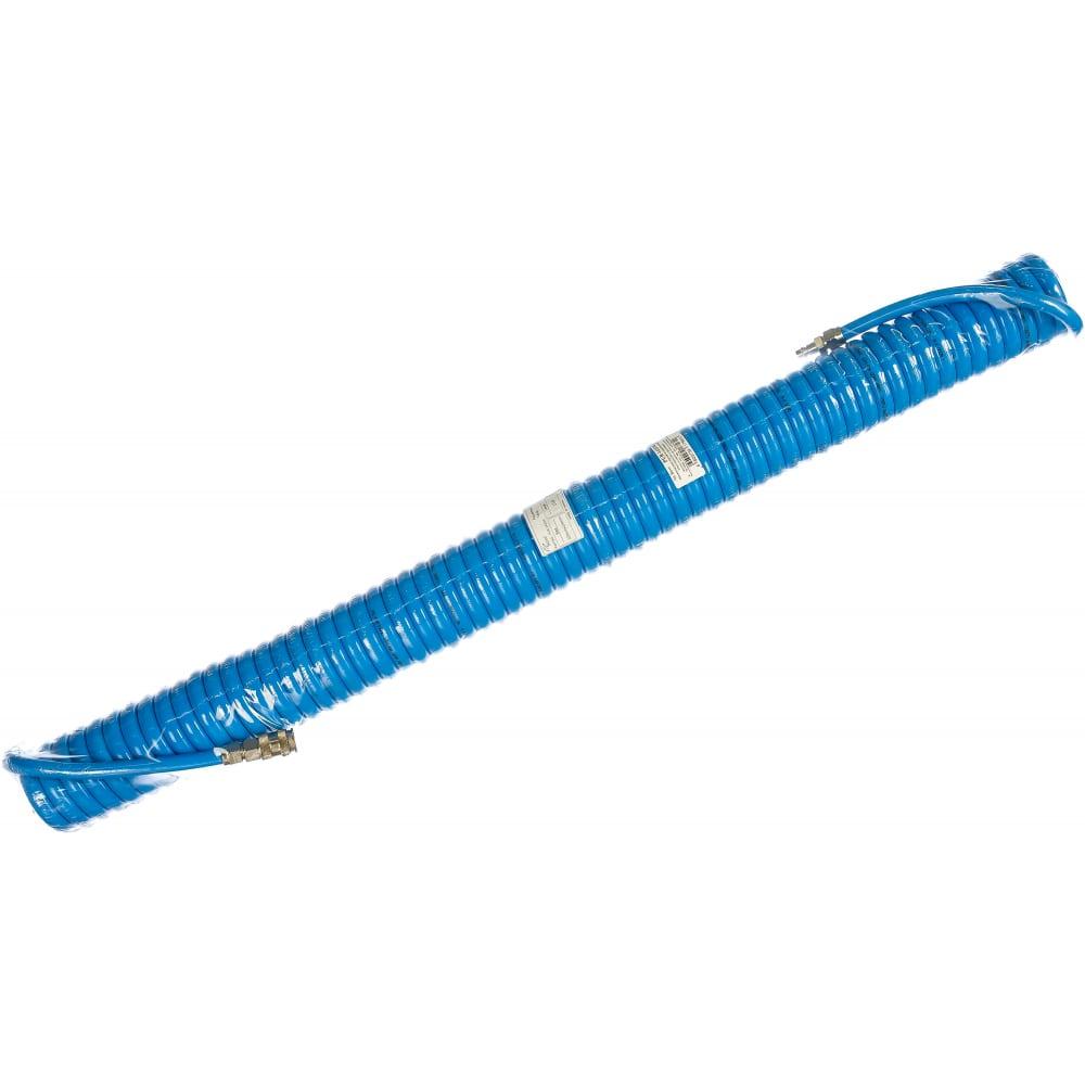 Купить Шланг пневматический витой полиуретановый (15 м; 14х10 мм; 20 бар) airboss pur-1415m