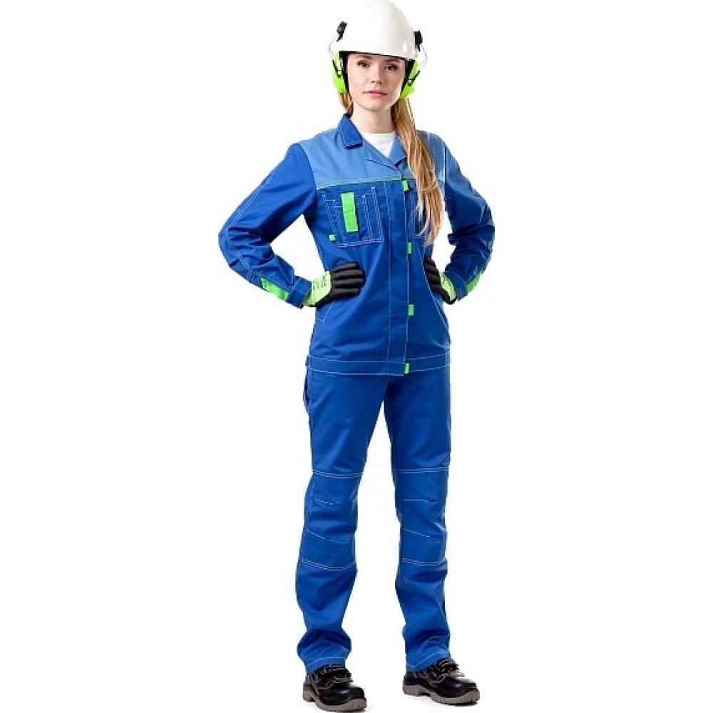 Женская летняя куртка техноавиа сити васильковая размер 120-124, рост 170-176 3058l фото