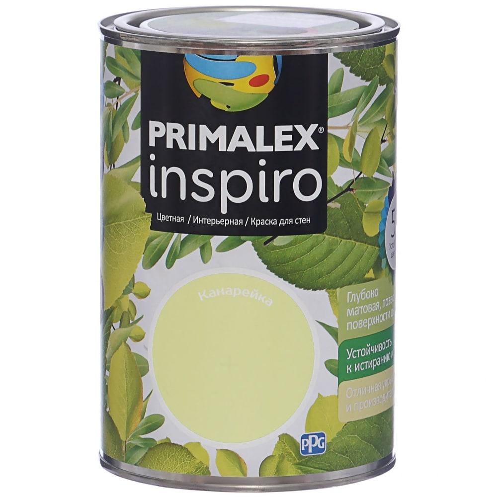 Краска primalex inspiro канарейка 420134
