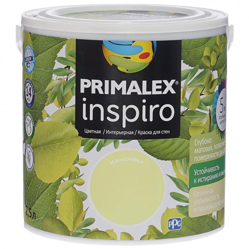 Краска primalex inspiro канарейка 420135