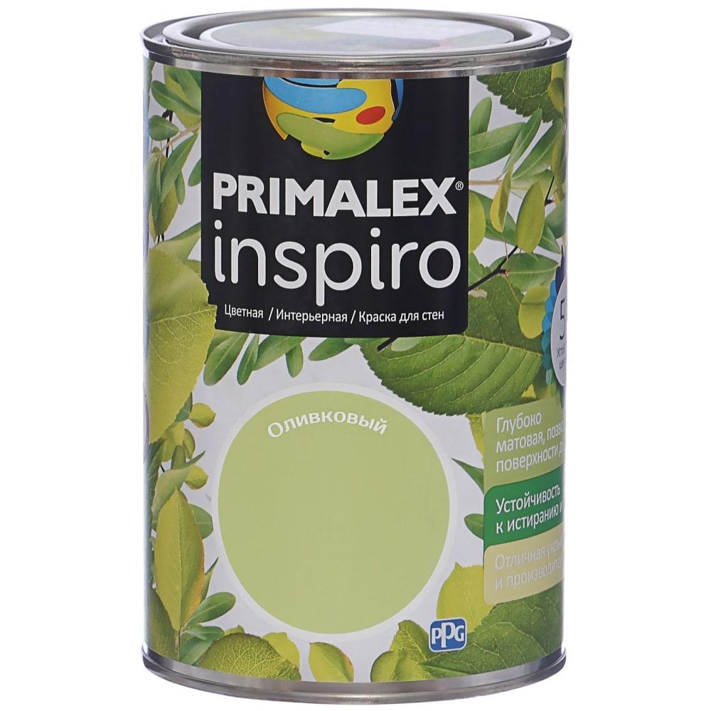 Краска primalex inspiro оливковый 420118