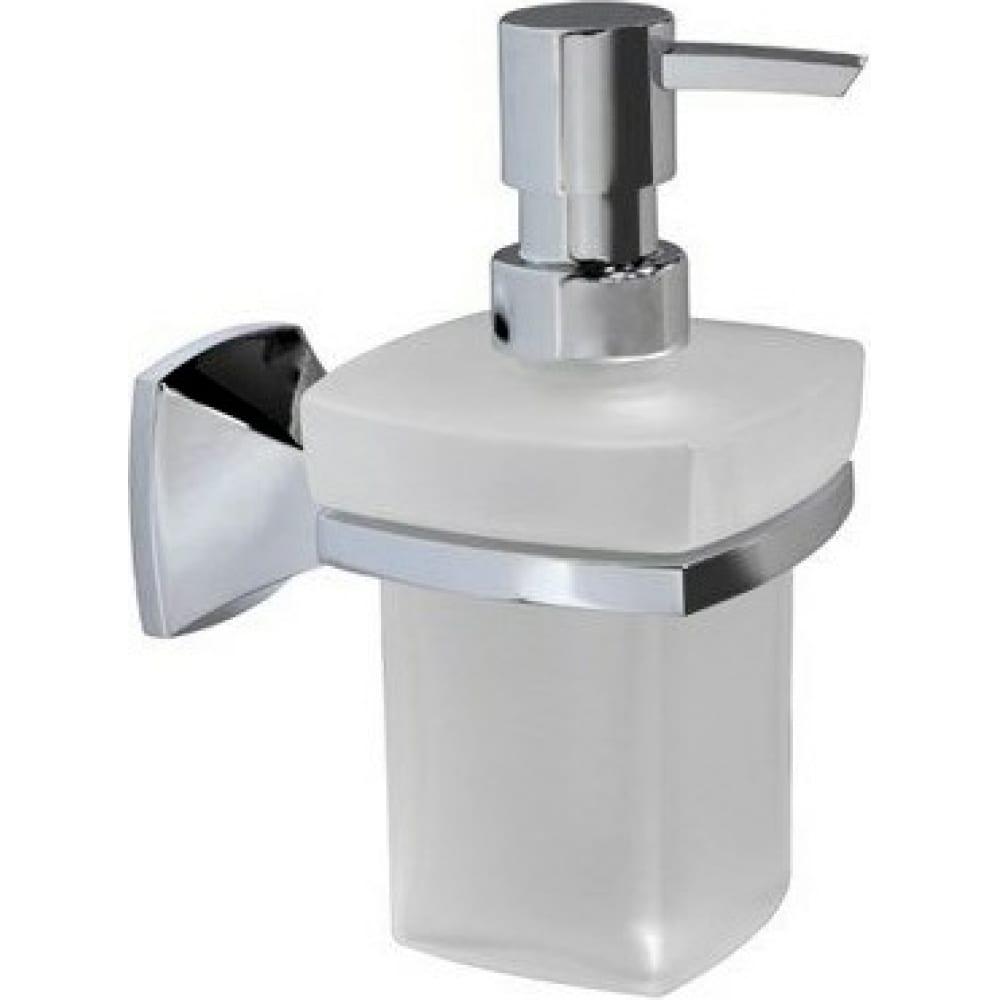 Дозатор для жидкого мыла wasserkraft wern k-2599 стеклянный, 230 ml  - купить со скидкой