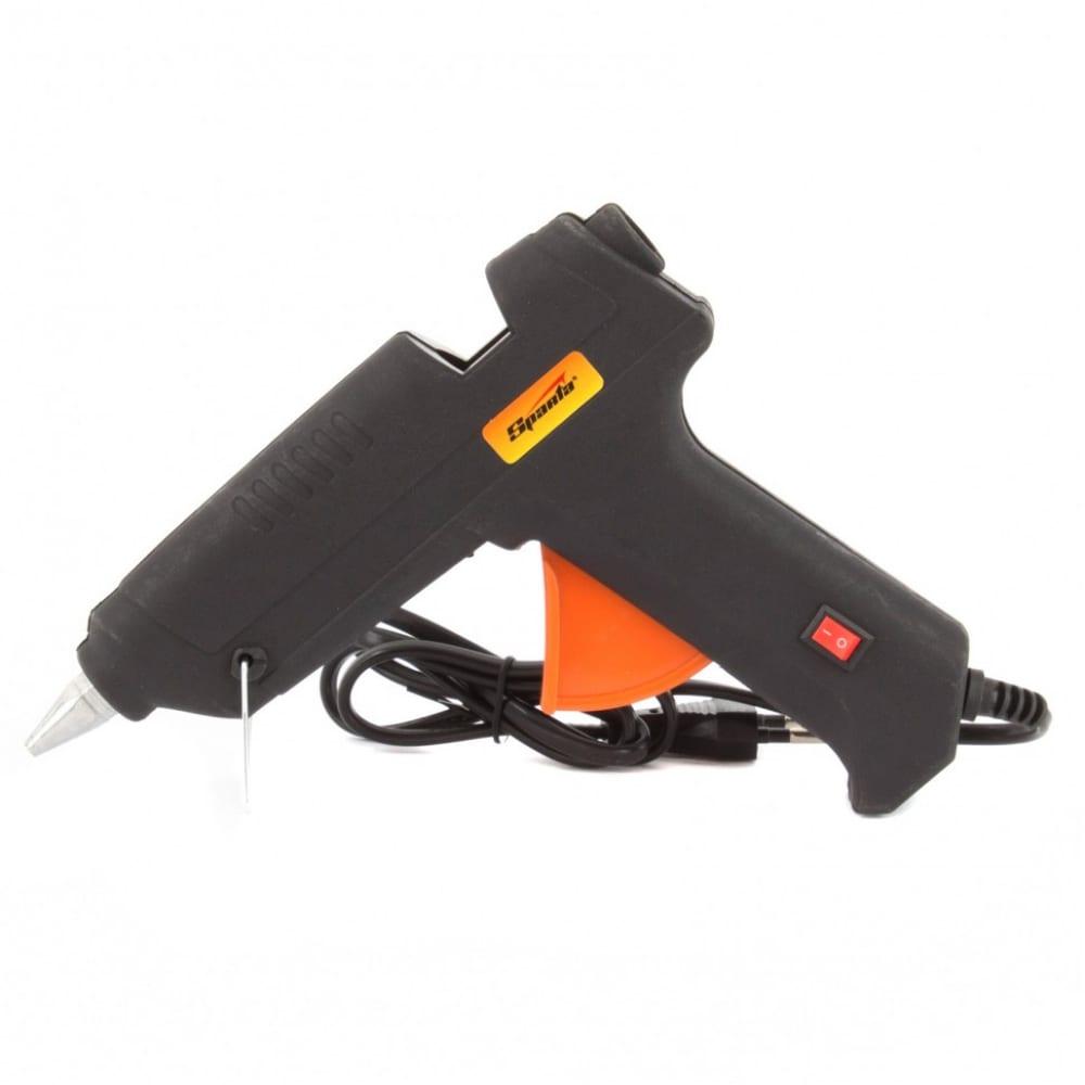 Клеевой пистолет с выключателем sparta 93033