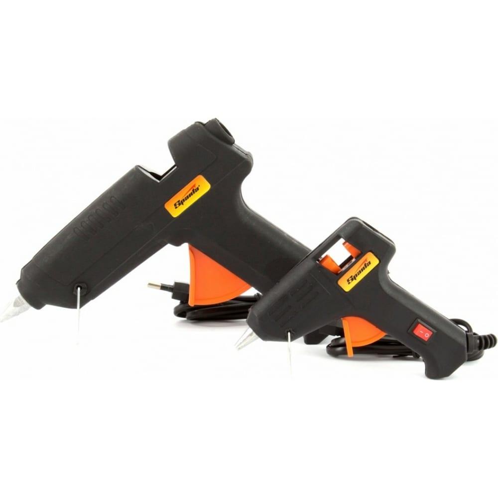 Набор клеевых пистолетов в кейсе sparta 93038
