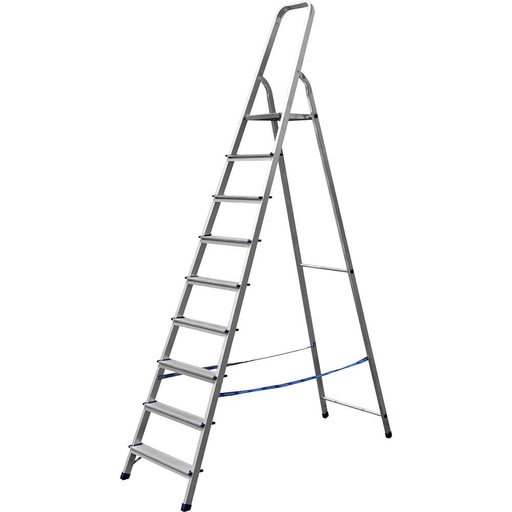 Купить Алюминиевая лестница-стремянка сибин 9 ступеней 38801-9