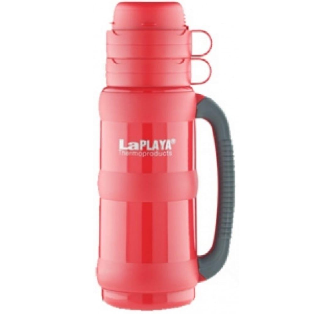 Термос со стеклянной колбой laplaya traditional, 35-50, 0.5 литра, красный 560003