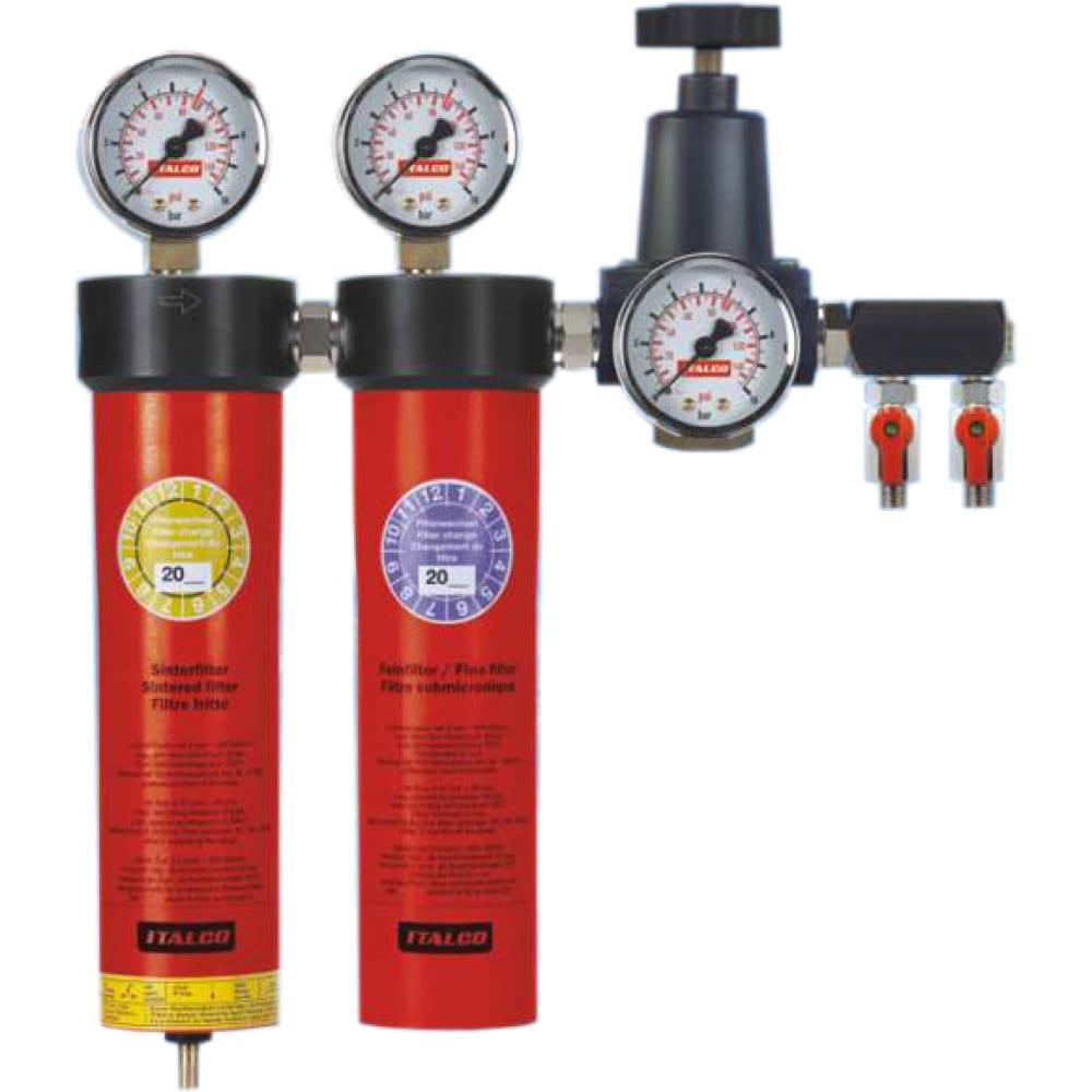 Купить Регулятор давления c двухступенчатой системой фильтров auarita ac6002
