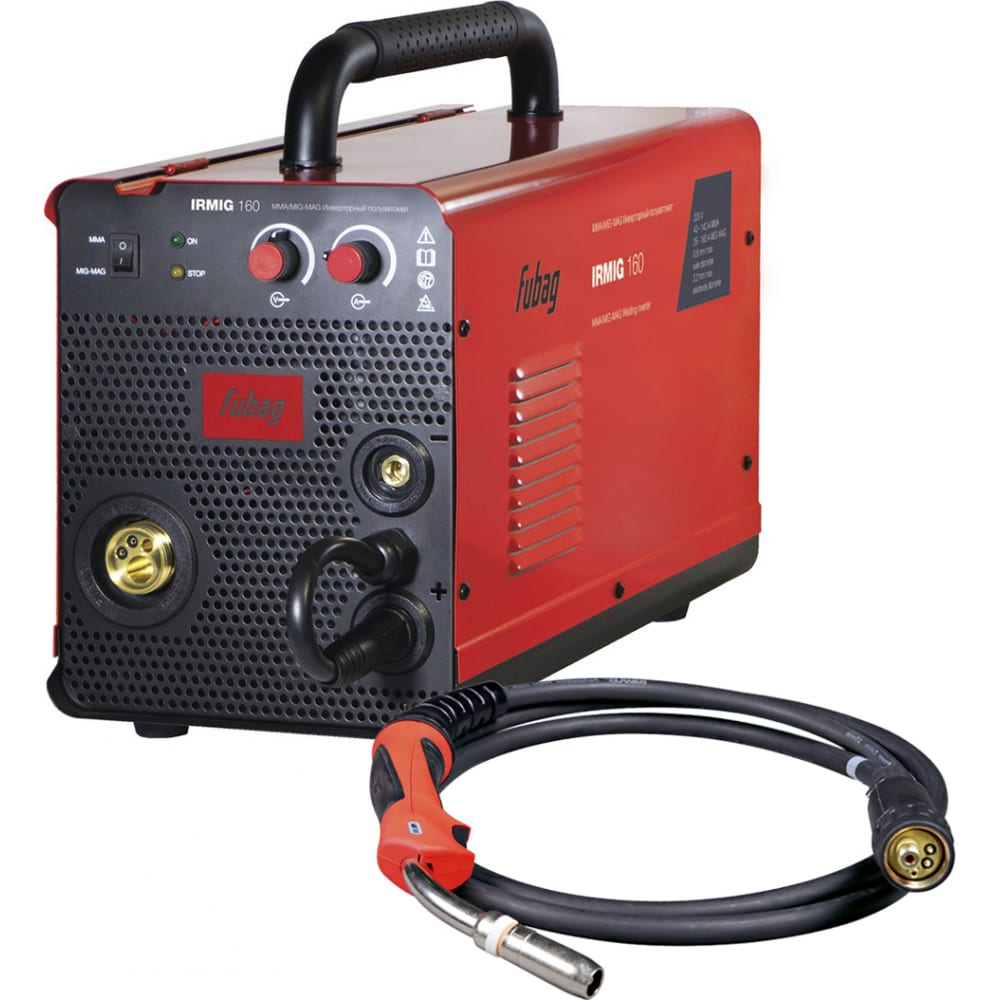 Сварочный полуавтомат инвертор fubag irmig 160 31 431 + горелка fb 150 38440 31 431.1