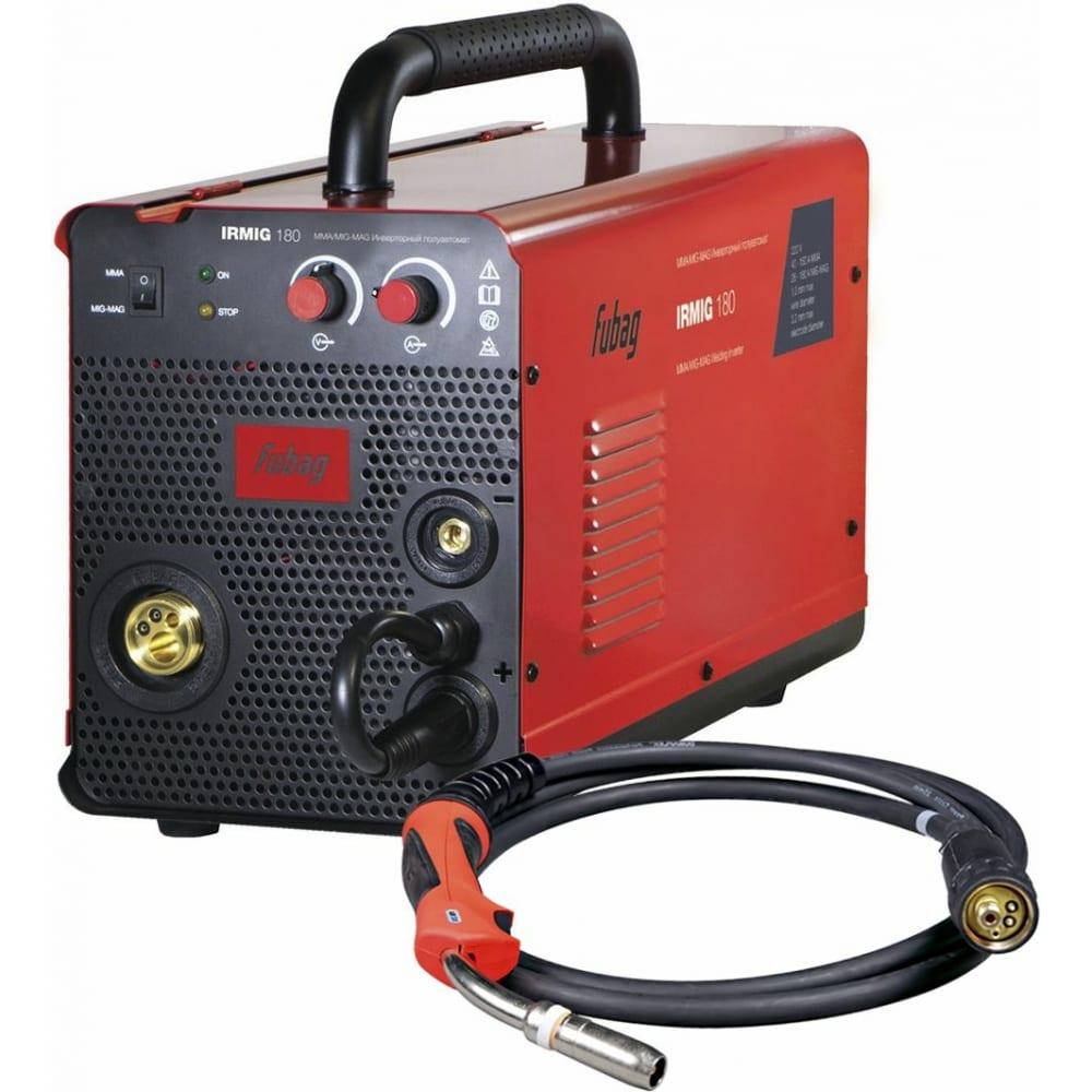 Сварочный полуавтомат инвертор fubag irmig 180 31 432 + горелка fb 250 38443 31 432.1
