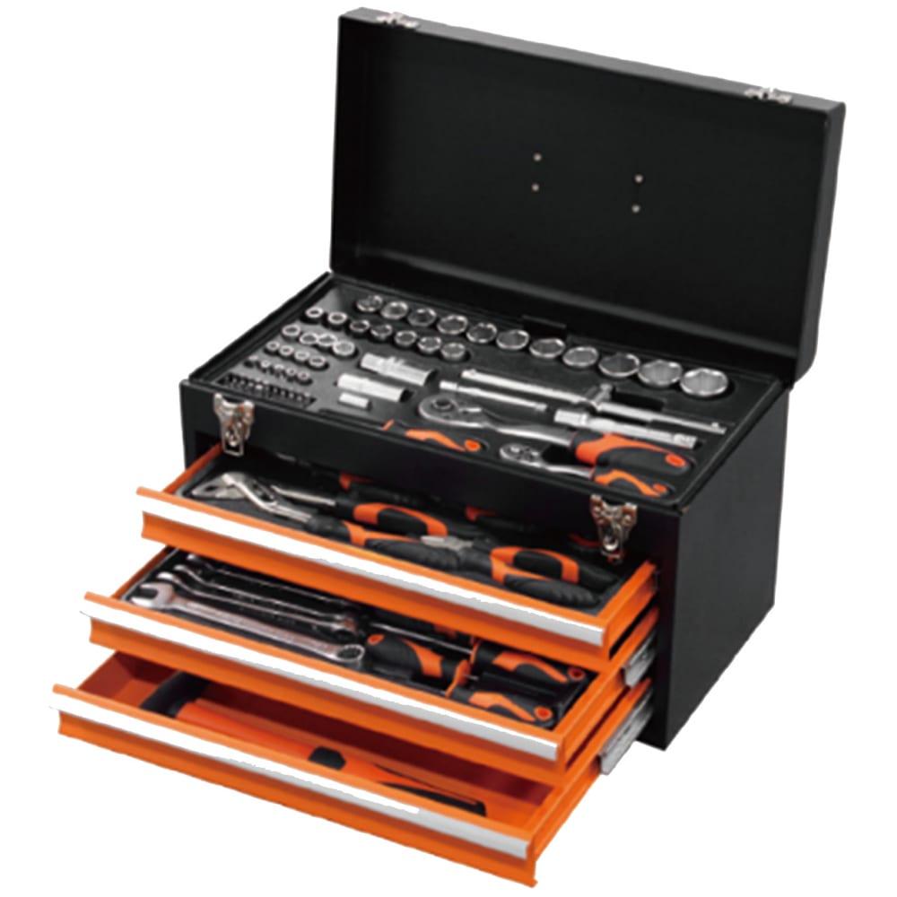 Купить Универсальный набор инструмента kendo 86 предметов 90517 00000073289