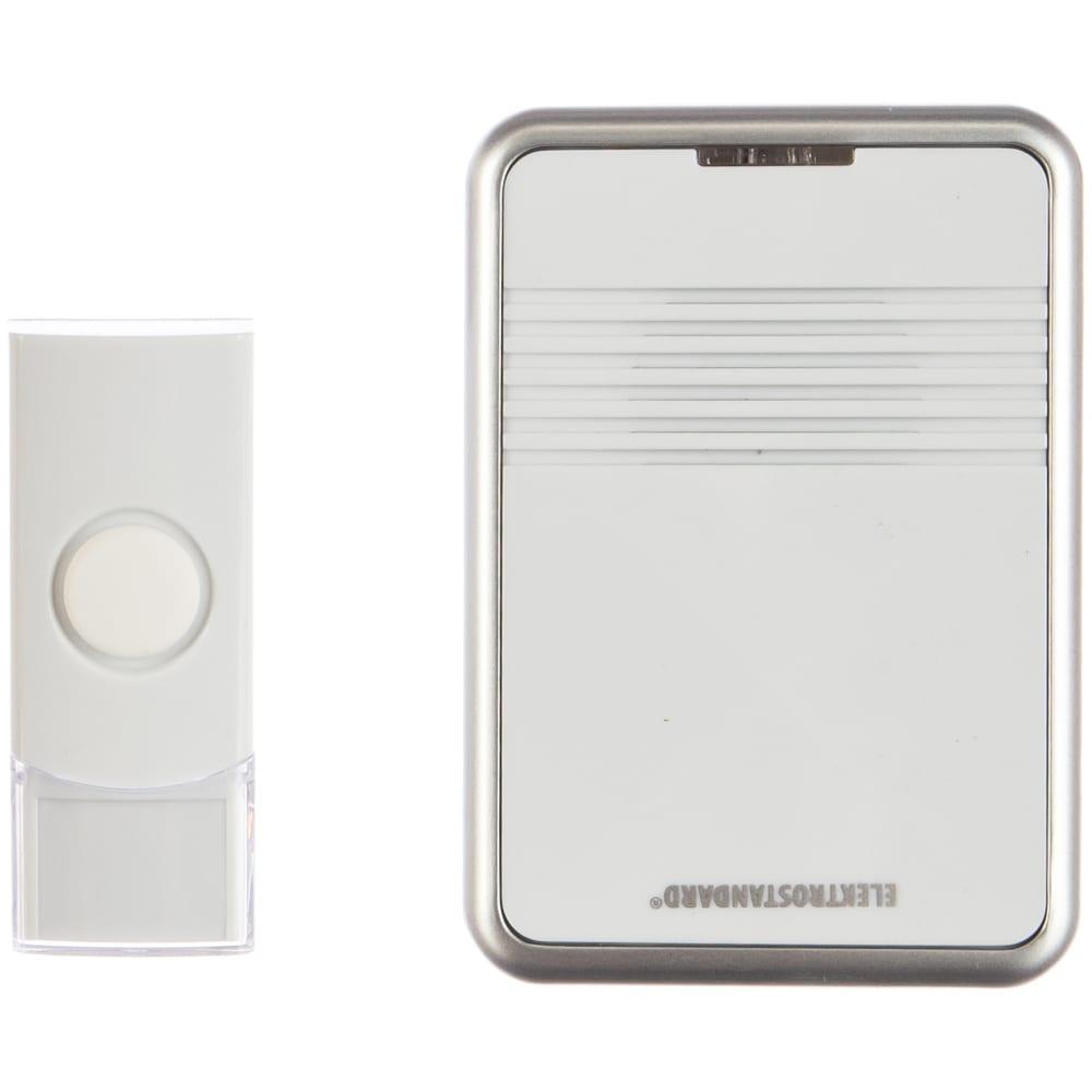 Электрический бытовой дверной звонок elektrostandard / dbq11m ac 36m ip44 / белый a031379