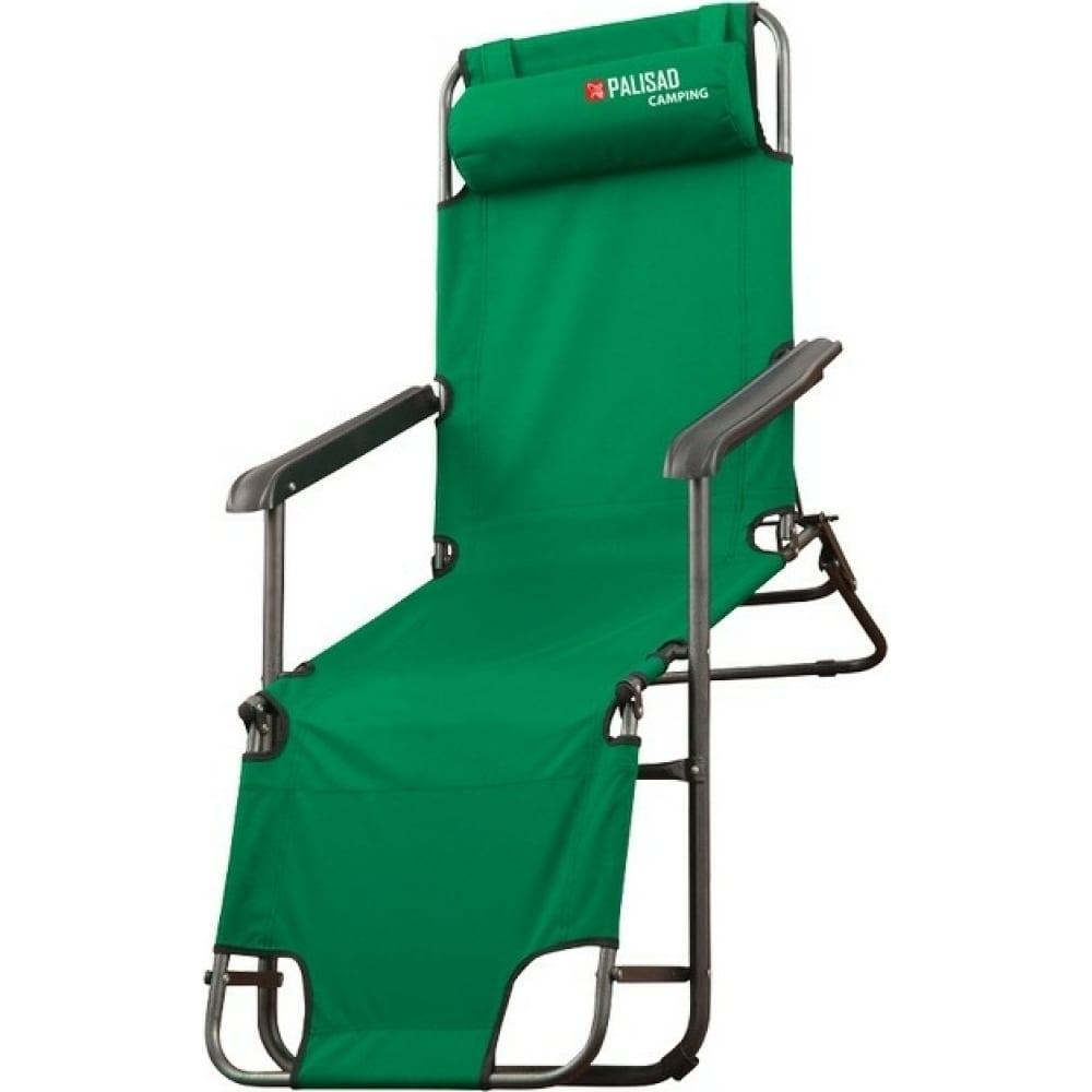 Купить Двухпозиционное кресло-шезлонг palisad camping 69587