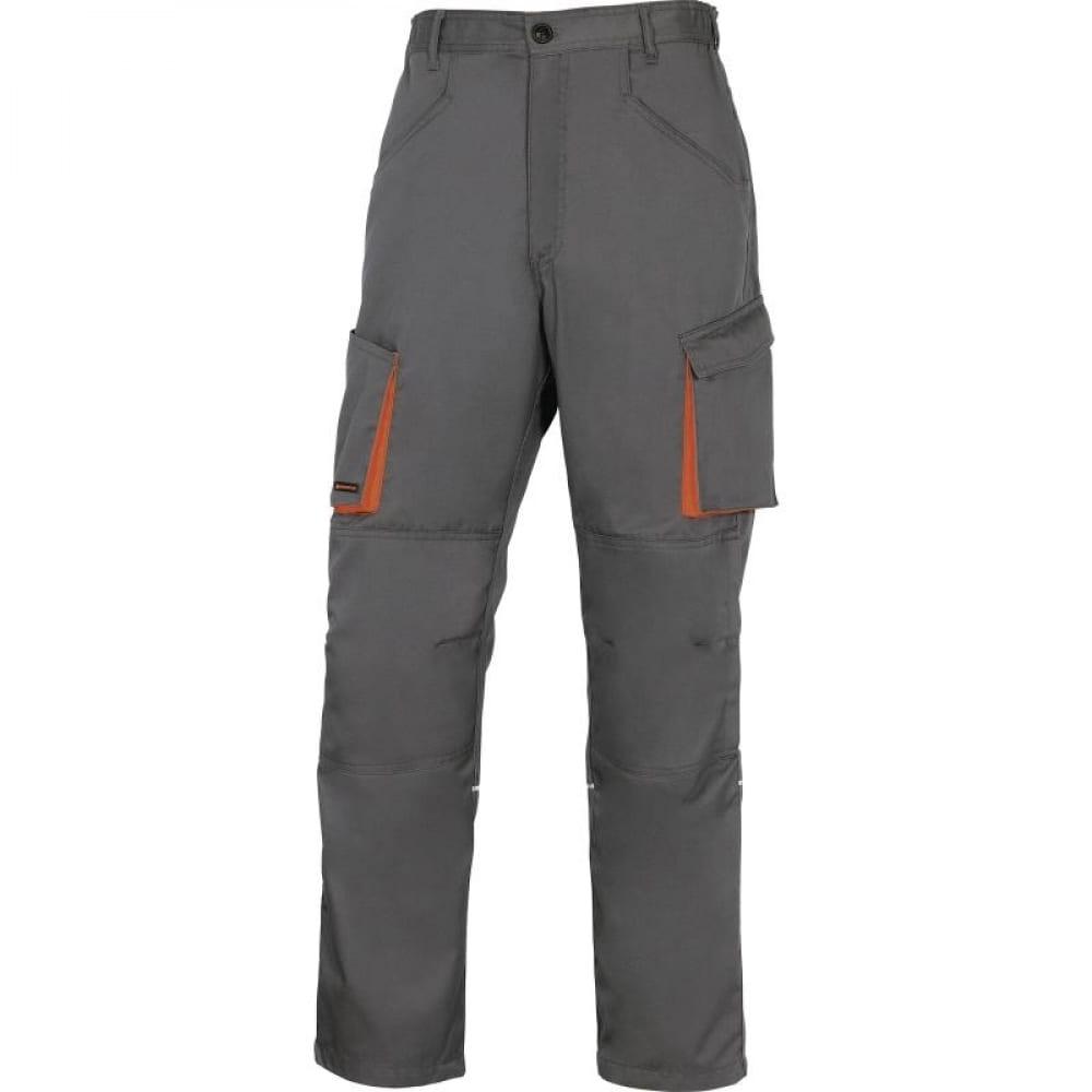 Рабочие брюки delta plus mach2 р.xl серый/оранжевый m2pa2grxg.