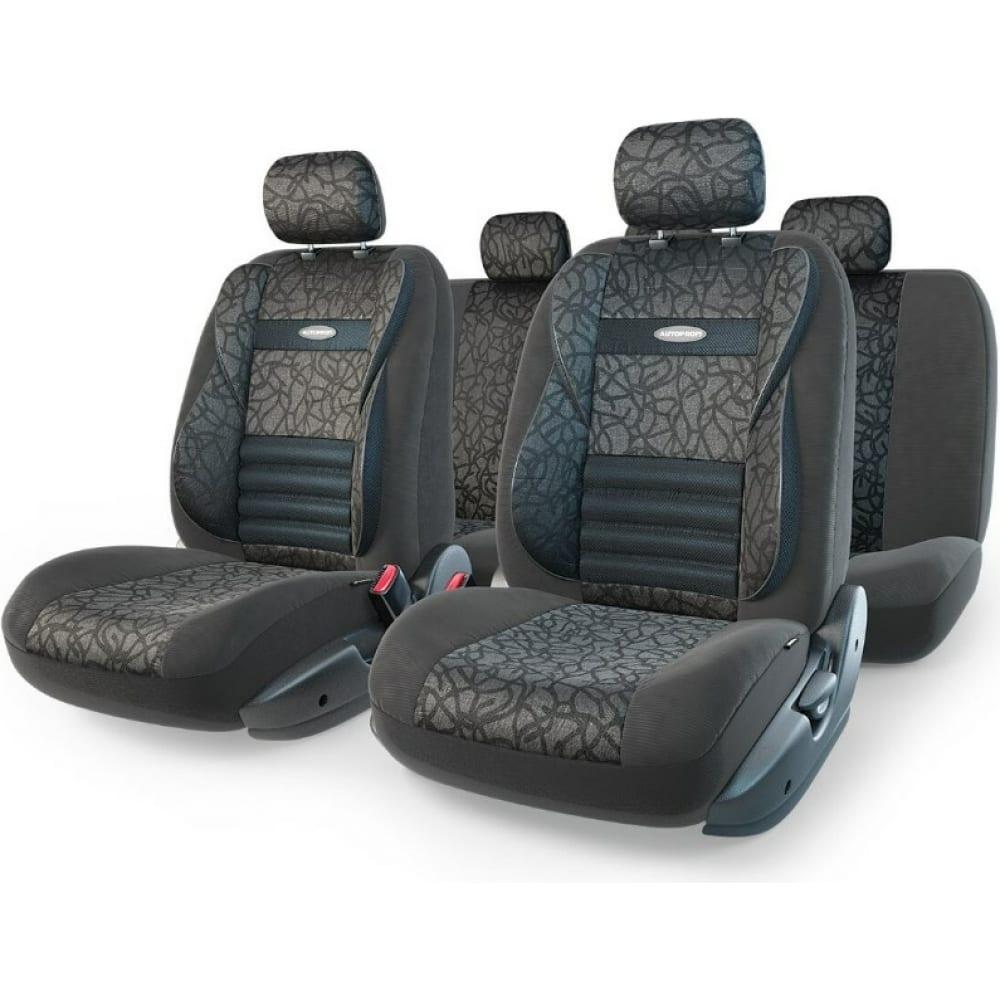 Купить Авточехлы autoprofi comfort combo cmb-1105 anthracite m