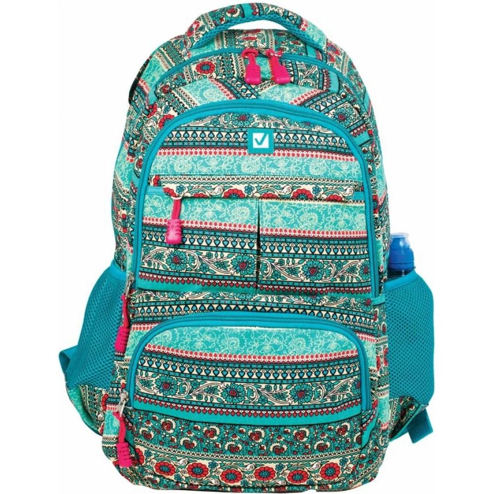 Рюкзак для старшеклассников/студентов/молодежи brauberg индия 226355